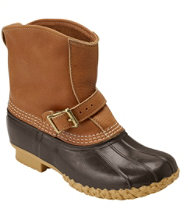"Tumbled-Leather L.L.Bean Boots, 7"" Lounger"