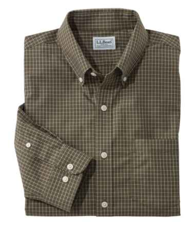 Wrinkle-Free Check Shirt, Slightly Fitted