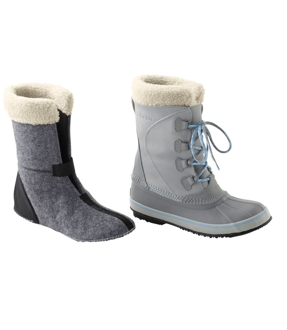 Women's L.L.Bean Snow Boot Liners