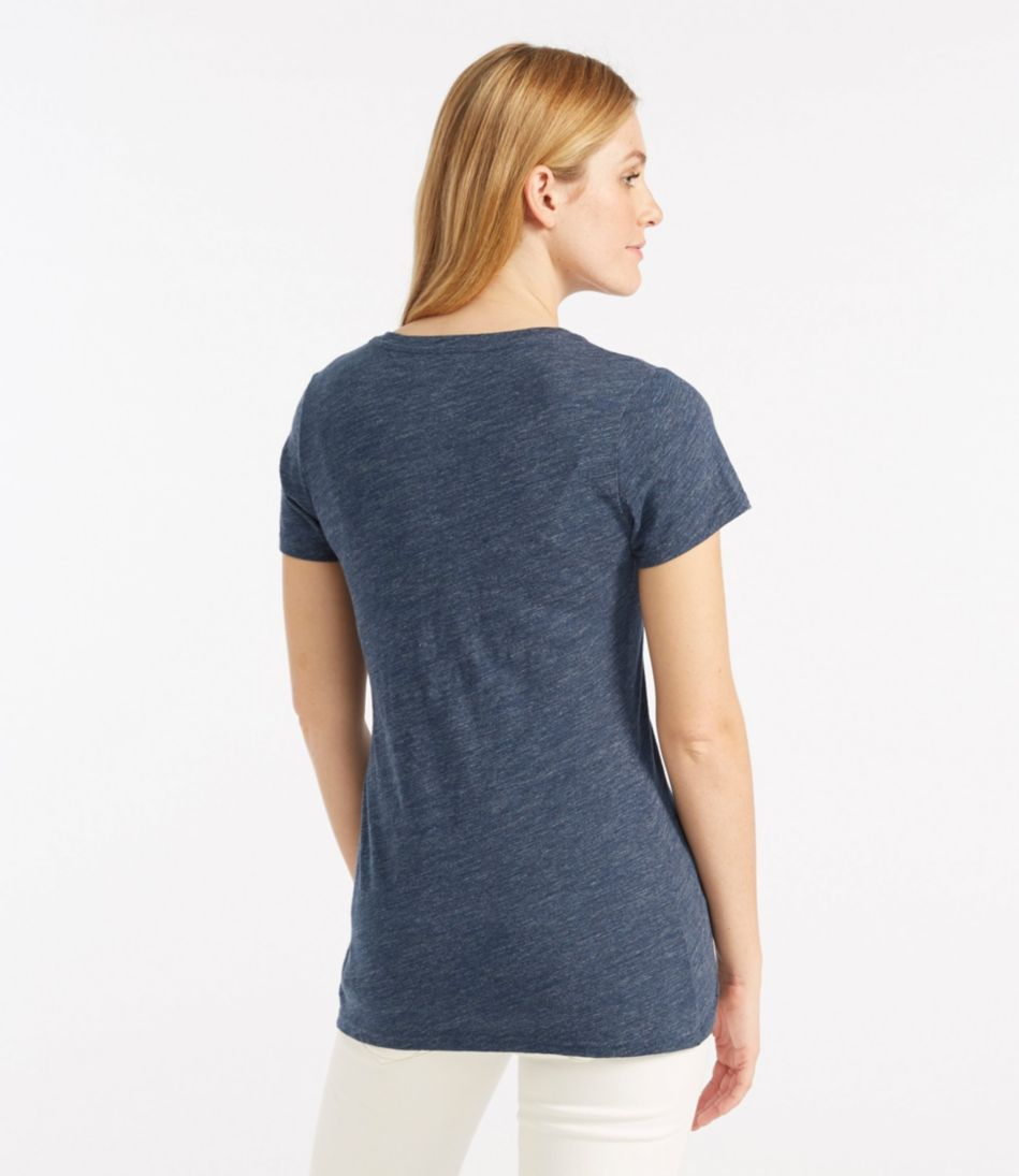 West End Fitted Tee, Short-Sleeve V-Neck