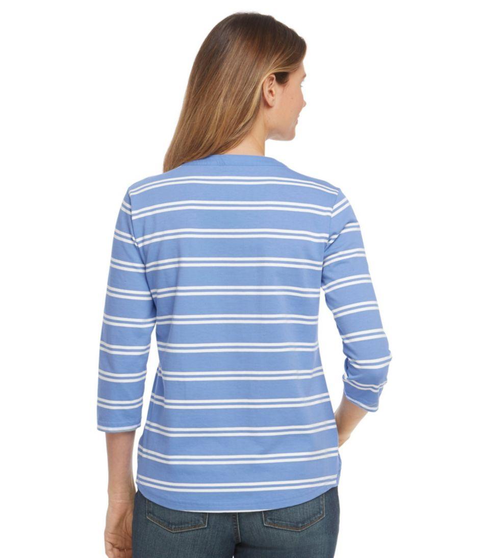Women's Summer Pullover, Henley