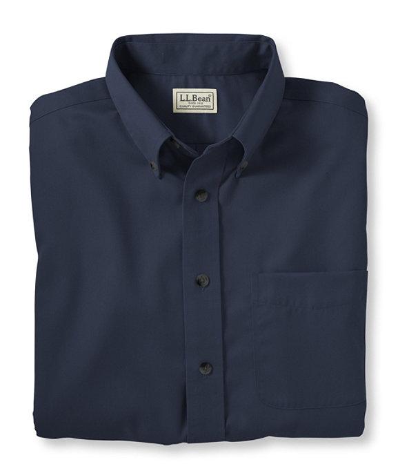 Men's Short-Sleeve Wrinkle-Free Chino Shirt, , large image number 0