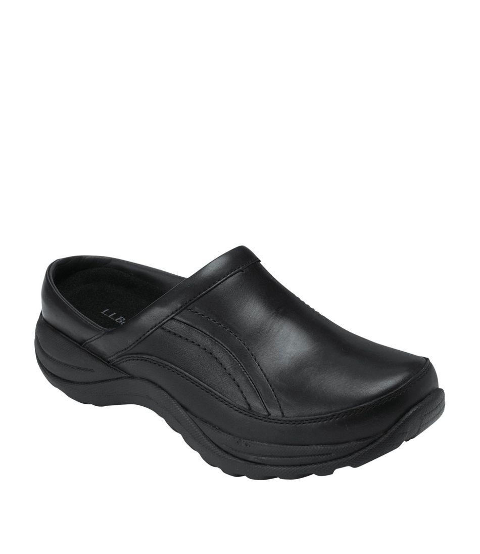 Women's Comfort Mocs, Leather Slide