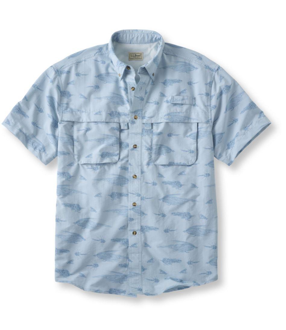 Tropicwear Shirt, Short-Sleeve Fly Print