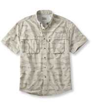 Tropicwear Shirt, Short-Sleeve Fly Print