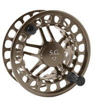 Silver Ghost Fly Spool Large Arbor #2