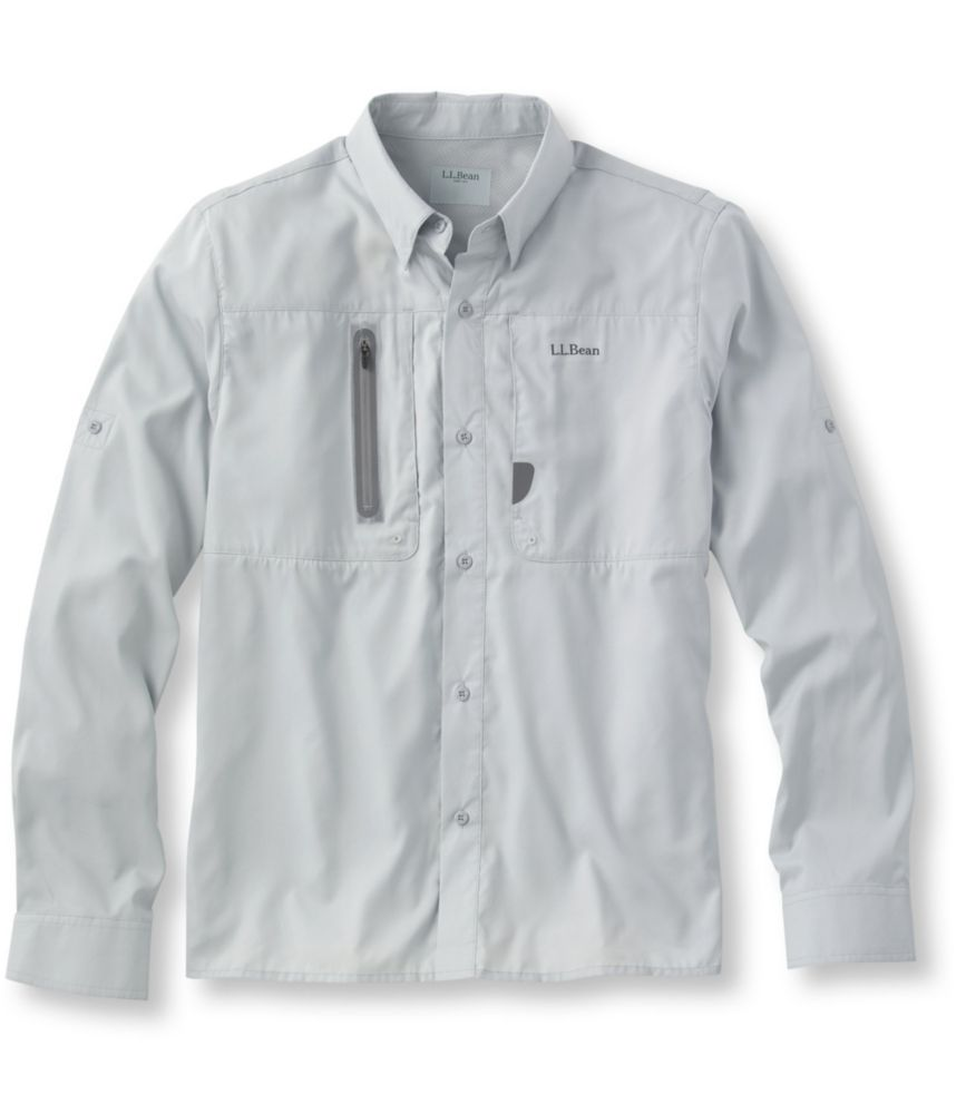 L.L.Bean Rapid River Technical Fishing Shirt, Long-Sleeve