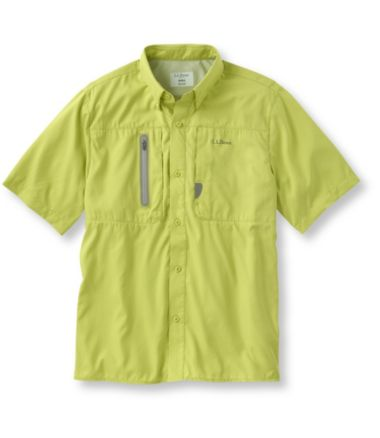 Men's Rapid River Technical Fishing Shirt, Short-Sleeve