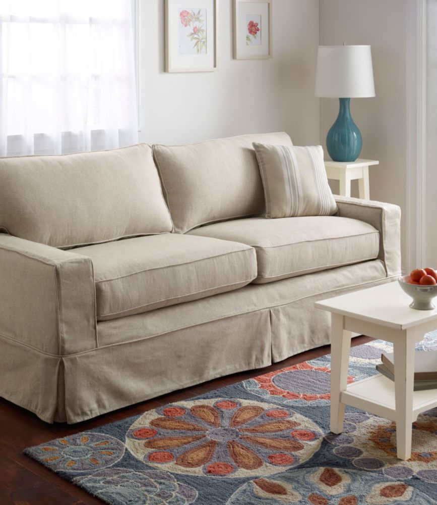 Beau Portland Sofa And Slipcover