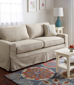 Portland Sofa and Slipcover