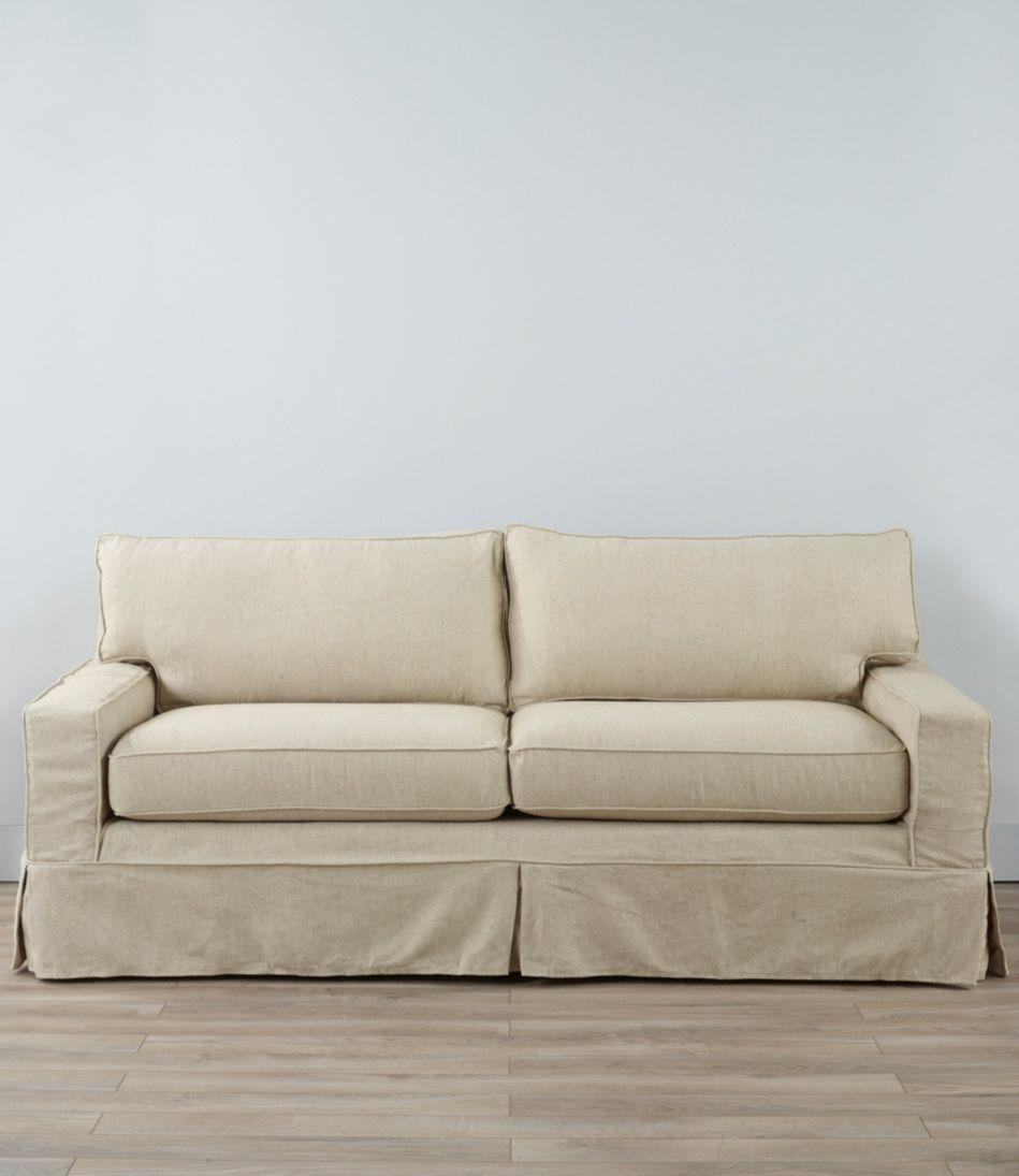 Portland Sofa and Slipcover