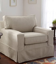 Portland Chair and Slipcover