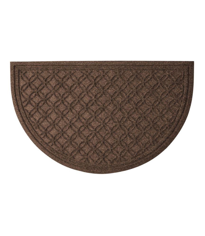 Waterhog Doormat, Recycled Crescent Locked Circles Gallery