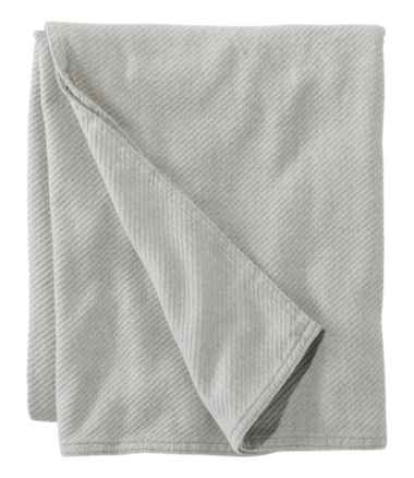 Maine-Made Cotton Twill Blanket