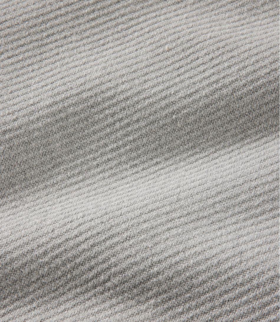 Maine-Made Cotton Twill Blanket