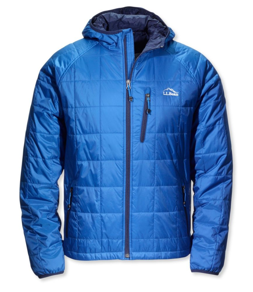 photo: L.L.Bean Ascent Packaway Hooded Jacket synthetic insulated jacket