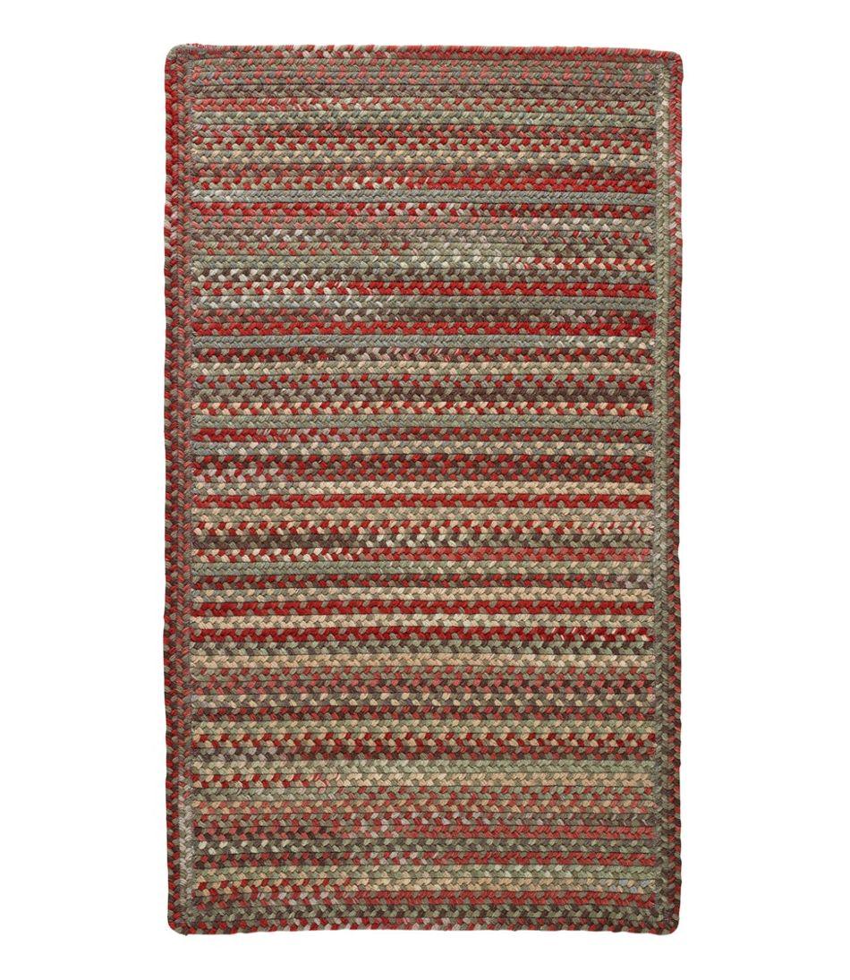 L.L.Bean Braided Wool Rug, Horizontal Braid