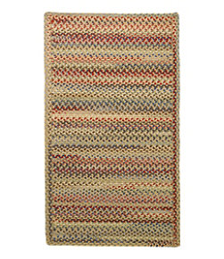 L.L.Bean Braided Wool Rug, Horizontal Braid