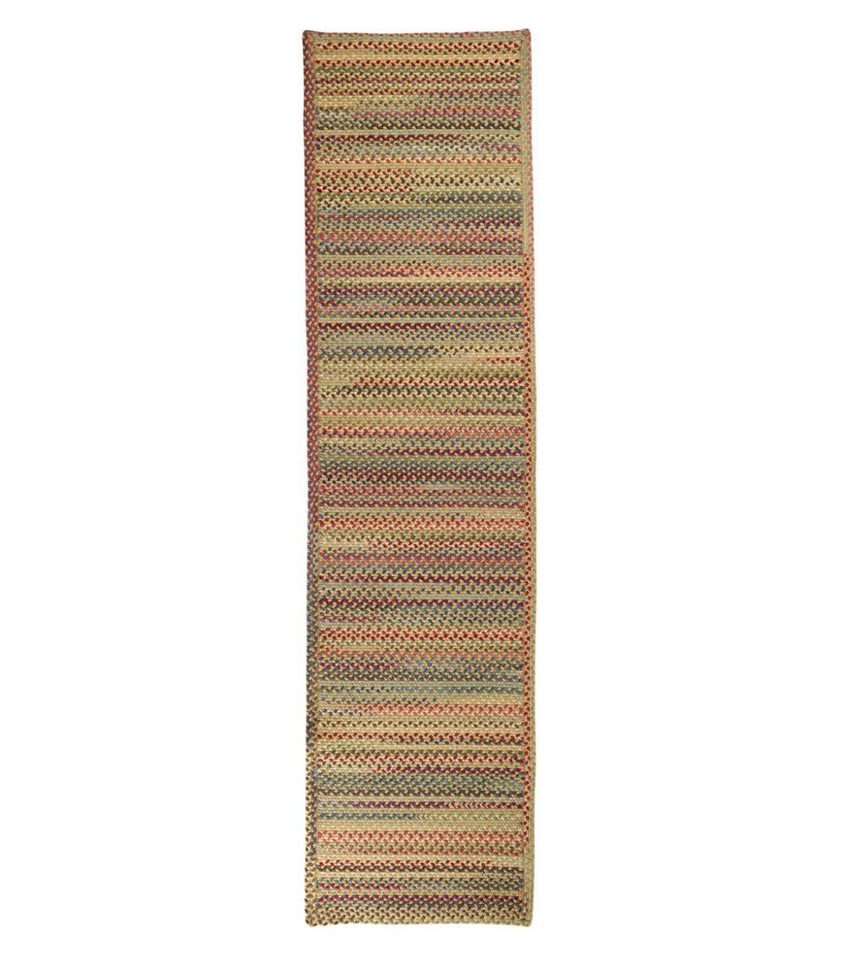 L.L.Bean Braided Wool Runner, Horizontal Braid
