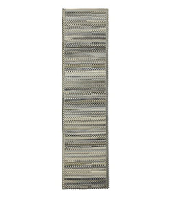 L.L.Bean Braided Wool Runner, Horizontal Braid