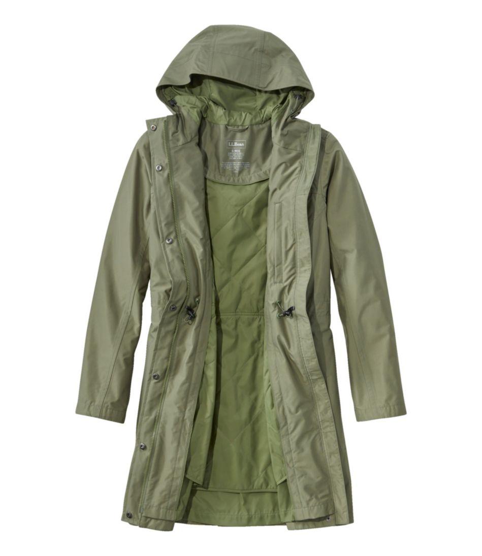 H2OFF Raincoat, PrimaLoft-Lined