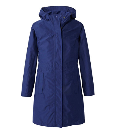 Women's H2OFF Raincoat, PrimaLoft-Lined | Free Shipping at L.L.Bean