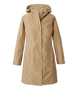 Women's H2OFF Raincoat, PrimaLoft-Lined