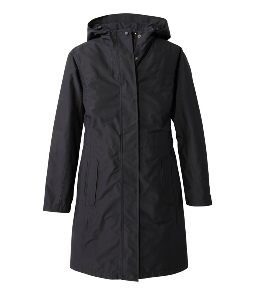 L.L.Bean H2Off Rain Coat, PrimaLoft-Lined