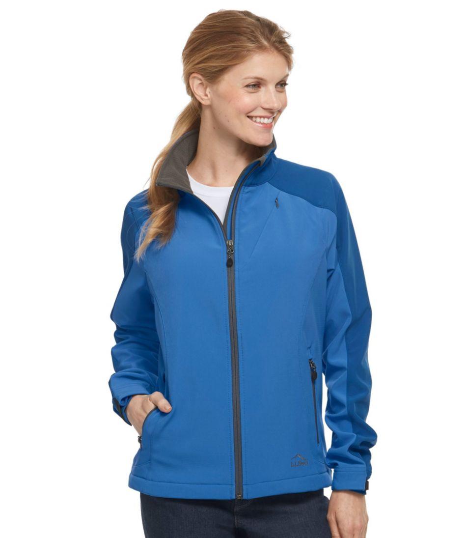 Women's Pathfinder Soft-Shell Jacket, Multicolor