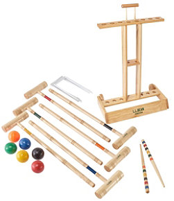 Maine Coast Croquet Set with Stand