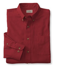 Wrinkle-Free Twill Sport Shirt, Traditional Fit