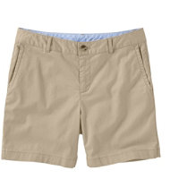 Washed Chino Shorts, 6""