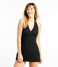 Slimming Swimwear, Clasp Halter Dress