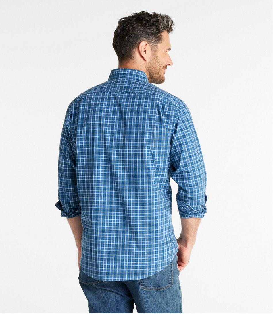 Men's Wrinkle-Free Kennebunk Sport Shirt, Slightly Fitted Check