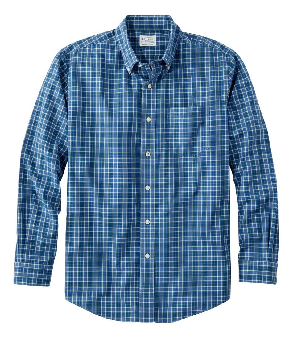 THE MENS STORE PLAID CHECK BLUE LARGE SOFT BUTTON DOWN SHIRT MENS NWT NEW