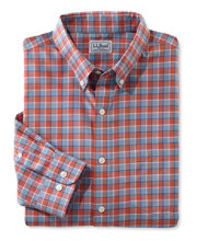 Wrinkle-Free Kennebunk Sport Shirt, Slim Fit Check