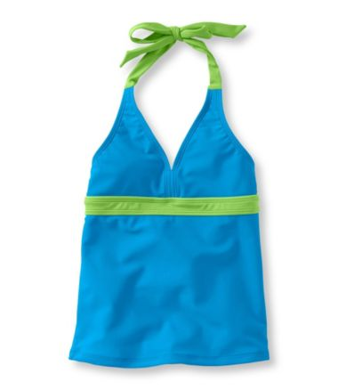Girls' BeanSport Swimsuit Top, Halter
