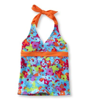 Girls' BeanSport Halter Top, Print