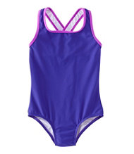 Girls' Tide Surfer Swimsuit, One-Piece