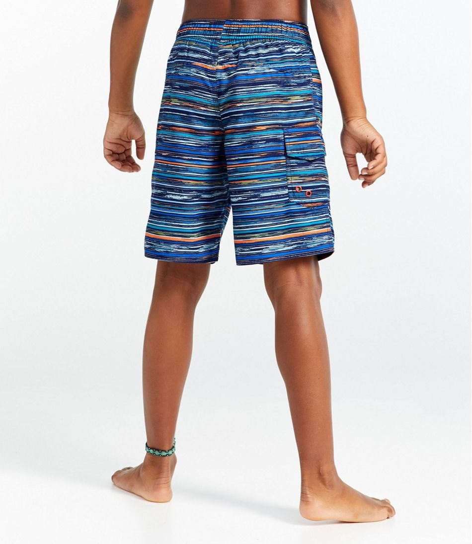 d744ace6ba Boys' BeanSport Swim Shorts, Print