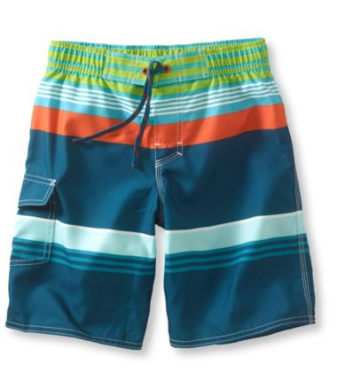 Boys' BeanSport Swim Shorts, Print