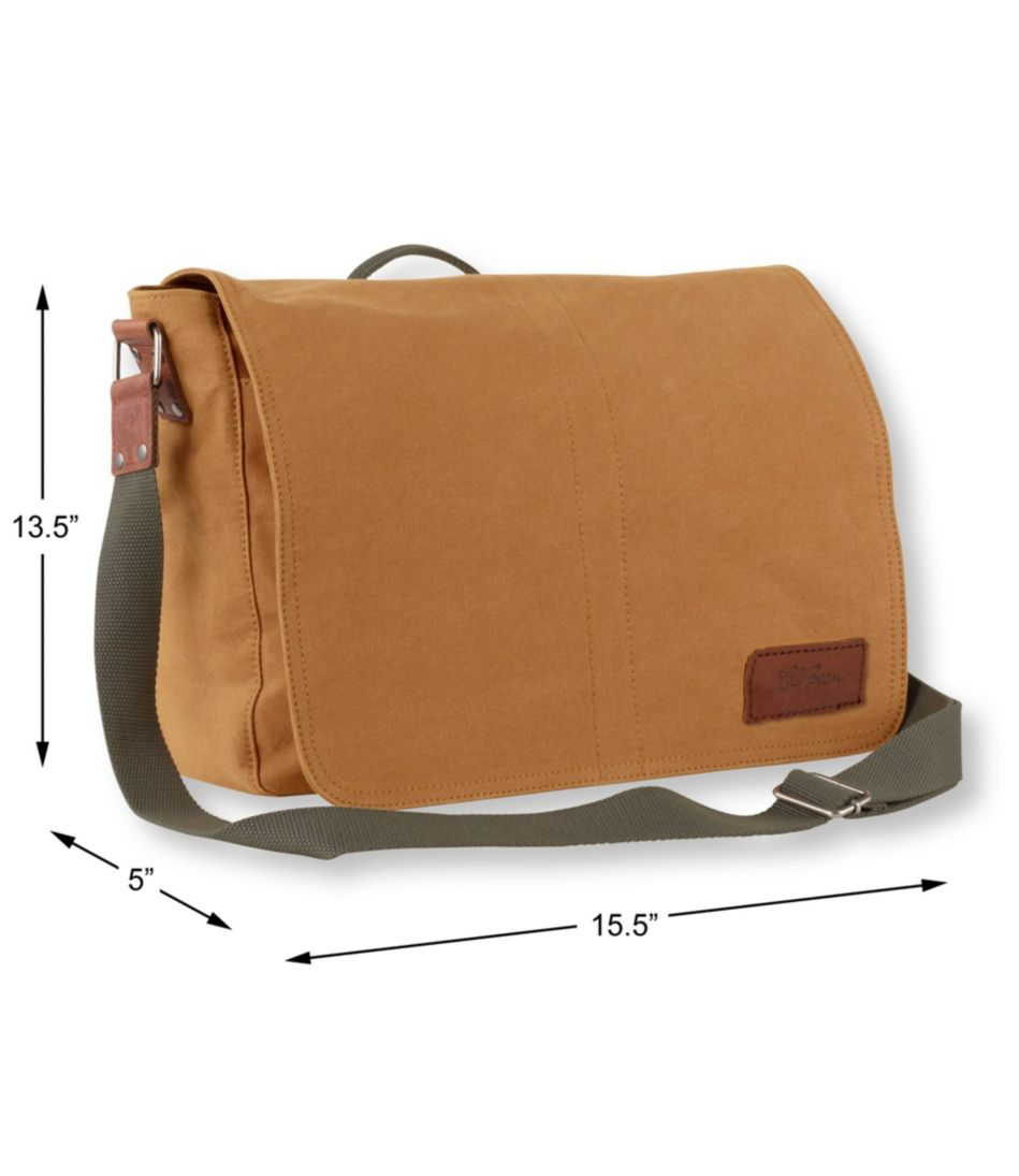 Field Canvas Messenger Bag