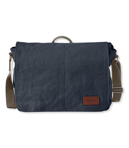 Field Canvas Messenger Bag | Free Shipping at L.L.Bean