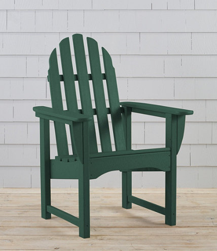 All Weather Upright Adirondack Chair