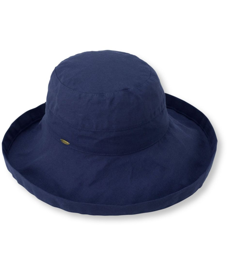 "Cotton Scala Hat, 3"" Brim"