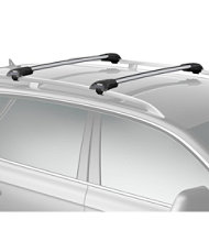 Thule AeroBlade Edge Roof Bar, Raised Rail
