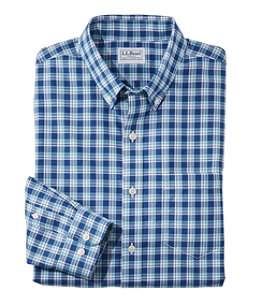 Men's Wrinkle-Free Kennebunk Sport Shirt, Traditional Fit Check