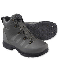 Gray Ghost Wading Boots with Boa Closure, Studded