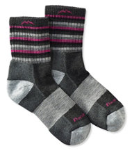 Darn Tough Cushion Socks, Micro-Crew Stripe