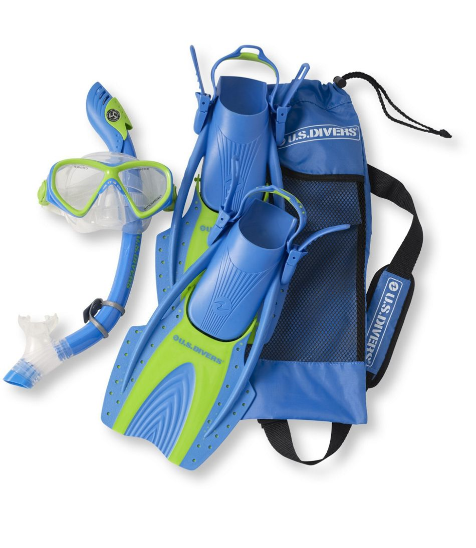 U S Divers Snorkeling Set Youths